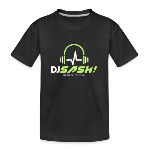 DJ SASH! - Headfone Beep - Teenager Premium Organic T-Shirt