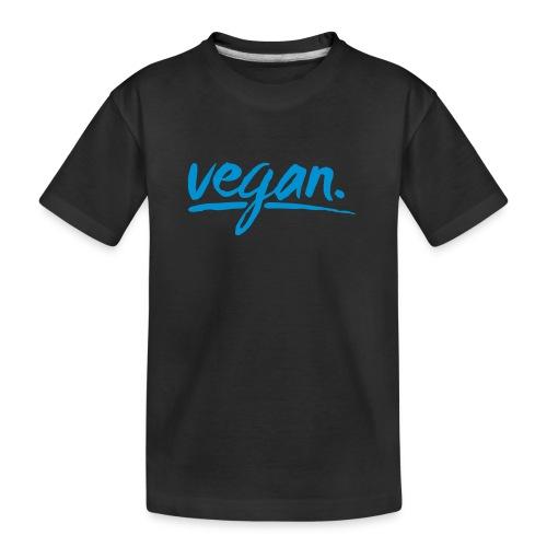 vegan - simply vegan ! - Teenager Premium Bio T-Shirt