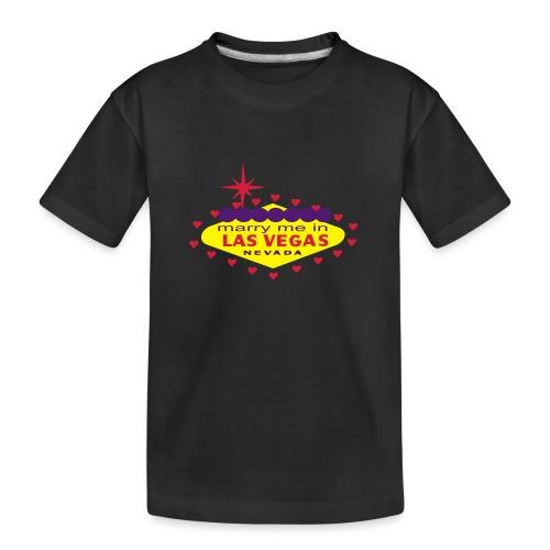 create your own las vegas wedding product - Teenager Premium Organic T-Shirt
