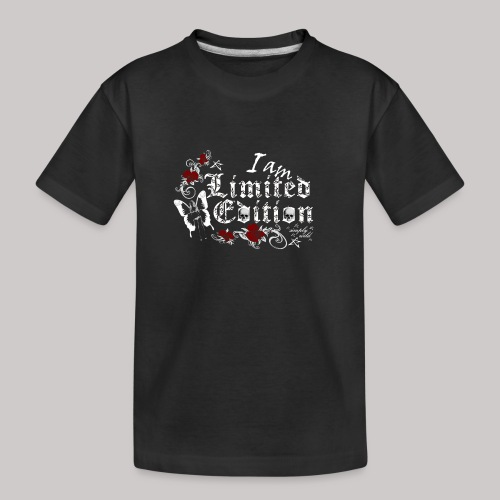 simply wild limited edition on black - Teenager Premium Bio T-Shirt