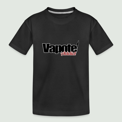vapote addict - T-shirt bio Premium Ado