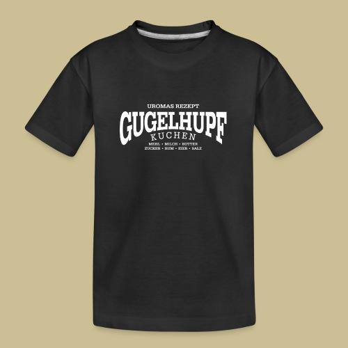 Gugelhupf (white) - Teenager Premium Bio T-Shirt