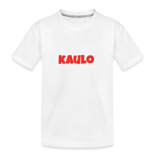 wit2 jpg - Teenager premium biologisch T-shirt