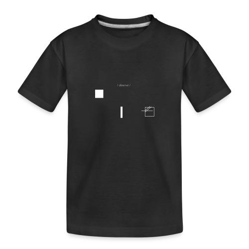 /obeserve/ sweater (M) - Premium økologisk T-skjorte for tenåringer
