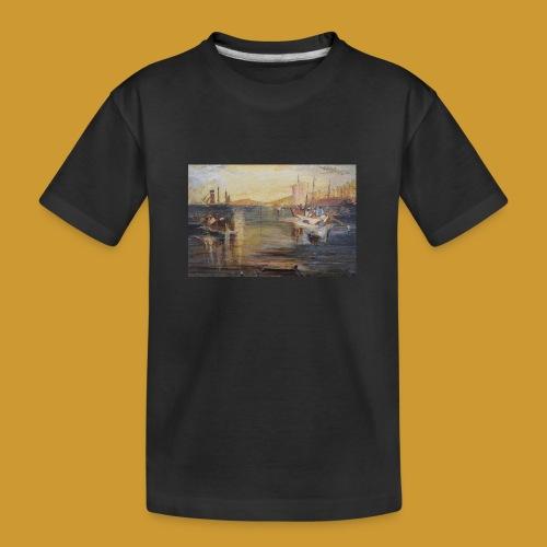 White Fishing - Mark Noble Art - Teenager Premium Organic T-Shirt