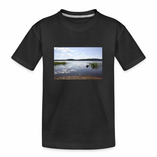 landscape - Teenager Premium Organic T-Shirt
