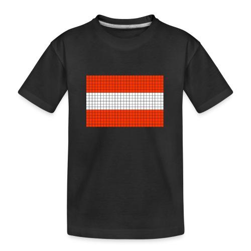austrian flag - Maglietta ecologica premium per ragazzi