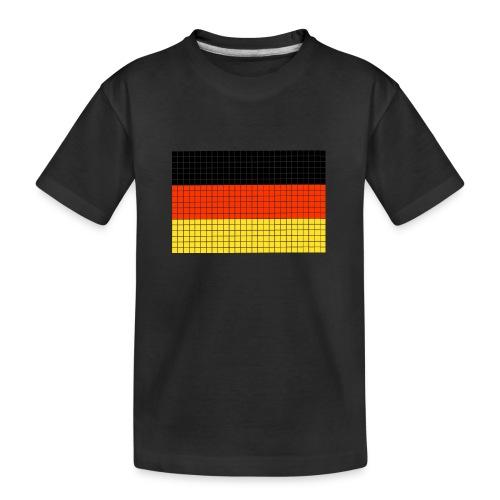 german flag.png - Maglietta ecologica premium per ragazzi