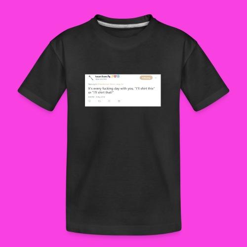 Ieuan Tweet - Teenager Premium Organic T-Shirt
