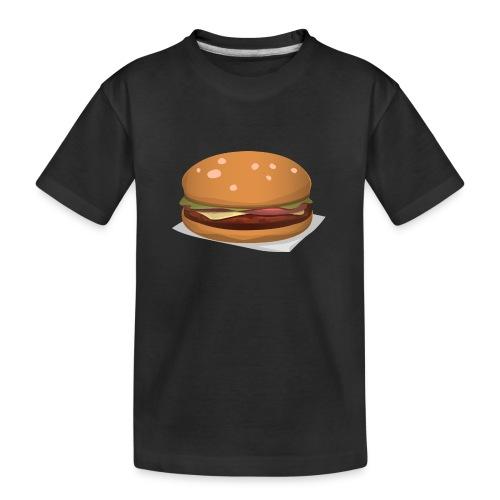 hamburger-576419 - Maglietta ecologica premium per ragazzi
