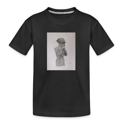 Colección Jacky - Camiseta orgánica premium adolescente