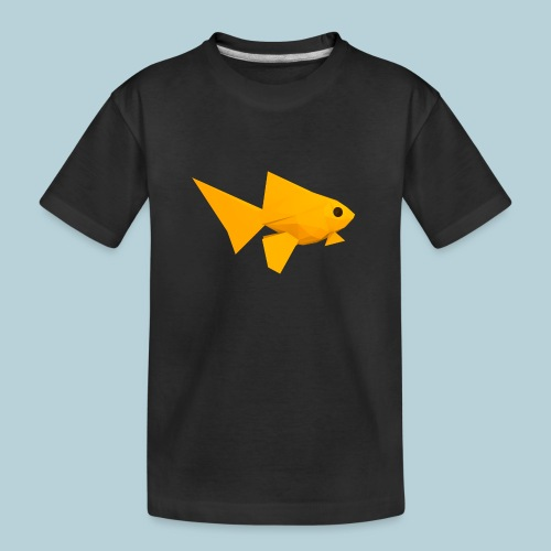 RATWORKS Fish-Smish - Teenager Premium Organic T-Shirt