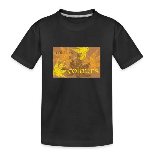 autumn theme - Ekologiczna koszulka młodzieżowa Premium