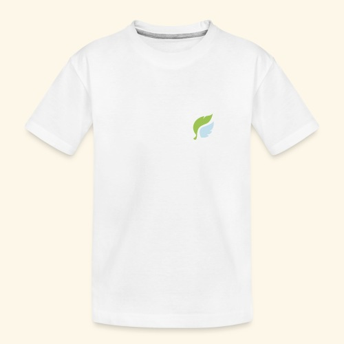 Akan White - Teinien premium luomu-t-paita