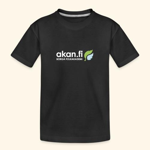 Akan White - Ekologisk premium-T-shirt tonåring