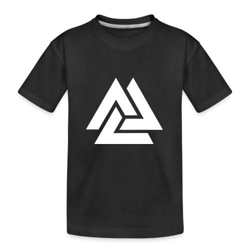 Valknut, Odin, Symbol, Wikinger, Nordisch, Kelten - Teenager Premium Bio T-Shirt