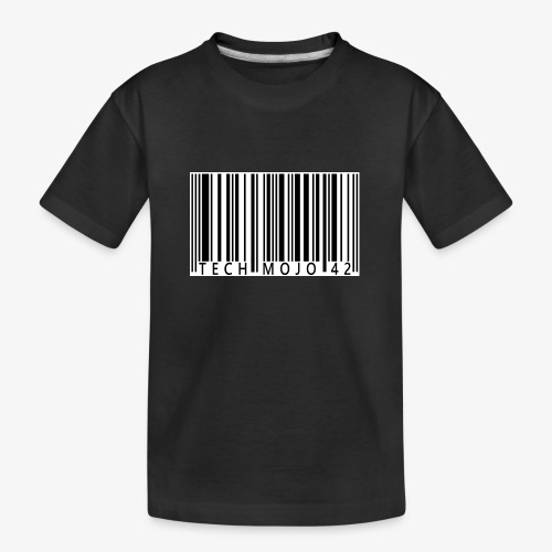 TM graphic Barcode Answer to the universe - Teenager Premium Organic T-Shirt