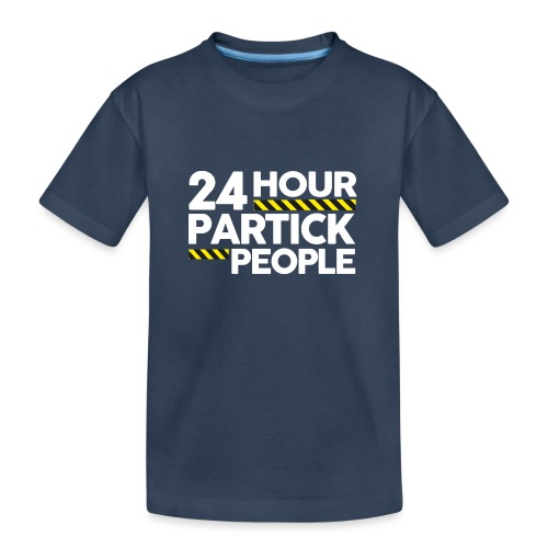 24 Hour Partick People - Teenager Premium Organic T-Shirt