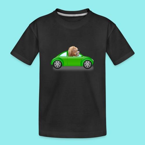 Poney voiture - T-shirt bio Premium Ado