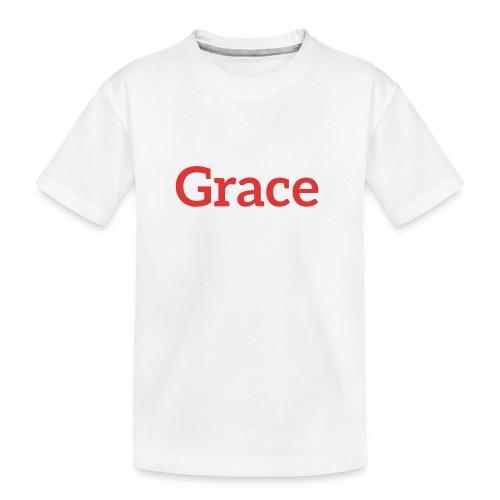 grace - Teenager Premium Organic T-Shirt
