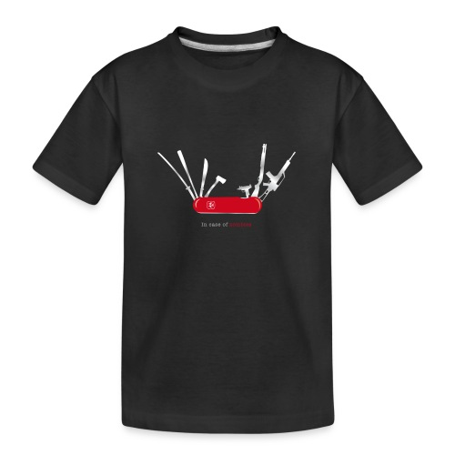 In case of zombies - Teenager Premium Bio T-Shirt