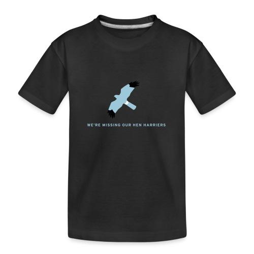 BAWC Hen Harrier Day Men's T-Shirt - Teenager Premium Organic T-Shirt