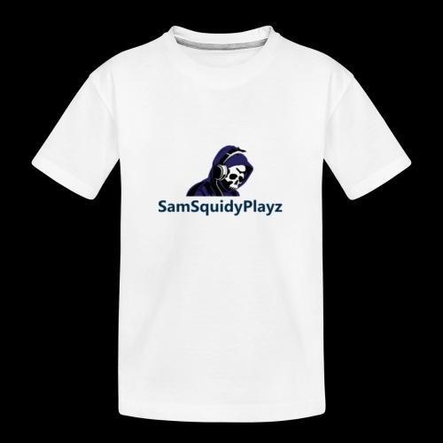 SamSquidyplayz skeleton - Teenager Premium Organic T-Shirt