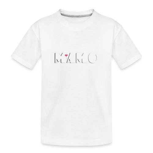 MAMO - Maglietta ecologica premium per ragazzi