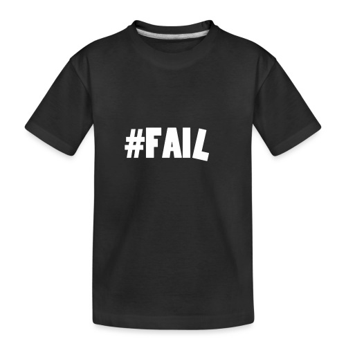 FAIL / White - T-shirt bio Premium Ado
