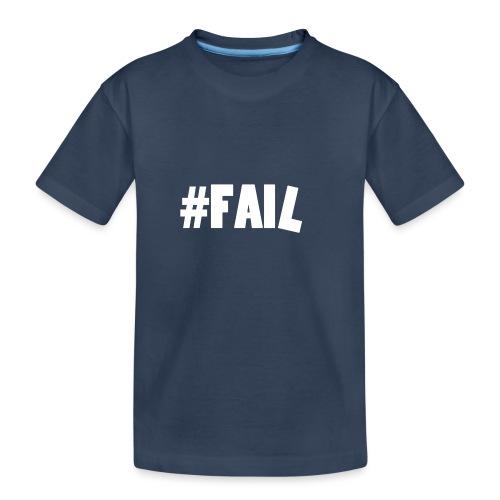 FAIL / White - T-shirt bio Premium Ado