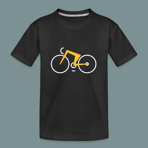 Bikes against cancer - Teenager premium T-shirt økologisk