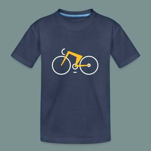 Bikes against cancer - Teenager premium T-shirt økologisk