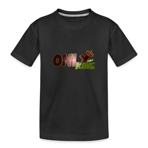 OnlyKing Ecolo design - T-shirt bio Premium Ado