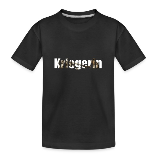 kriegerin - Teenager Premium Bio T-Shirt