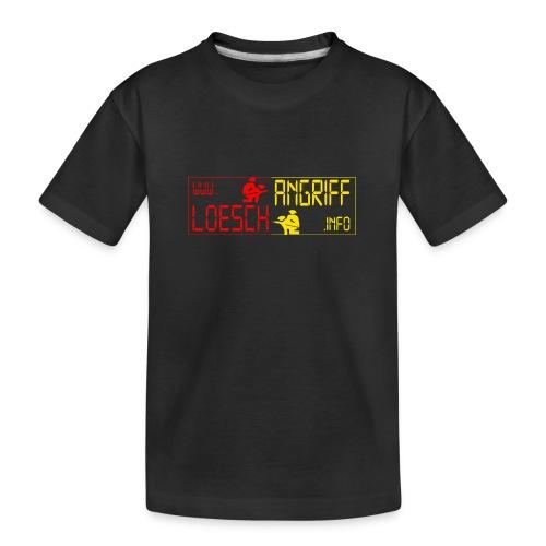 logo2014rotgelb png - Teenager Premium Bio T-Shirt