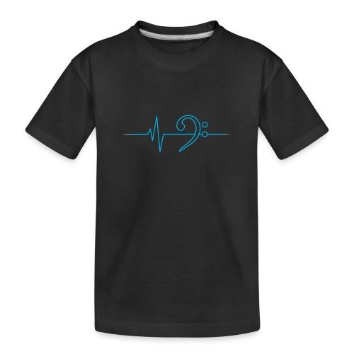 LowHeartBeat cyan - Teenager Premium Bio T-Shirt