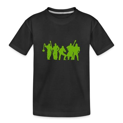 Jugger Schattenspieler gruen - Teenager Premium Bio T-Shirt