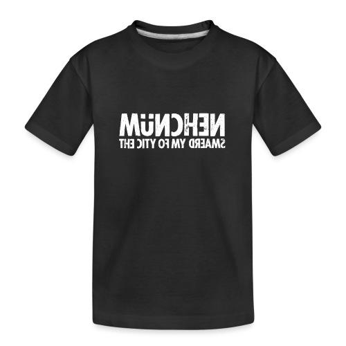 München (white oldstyle) - Teenager Premium Bio T-Shirt