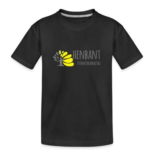 henbant logo - Teenager Premium Organic T-Shirt