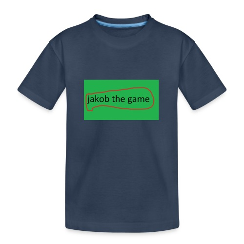 jakob the game - Teenager premium T-shirt økologisk