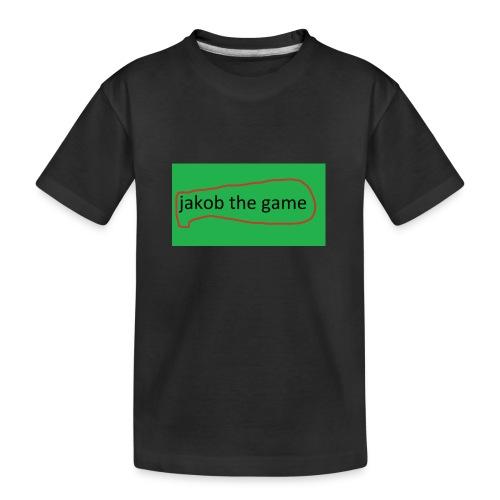 jakobthegame - Teenager premium T-shirt økologisk