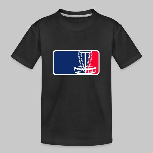 Disc golf - Teinien premium luomu-t-paita