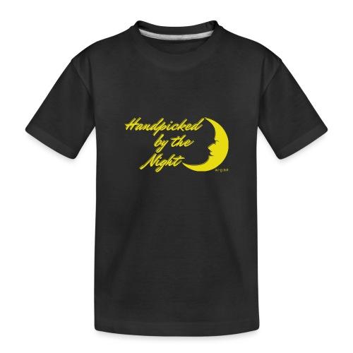 Handpicked design By The Night - Logo Yellow - Teenager Premium Organic T-Shirt