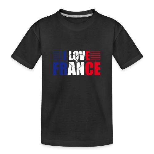 love france - T-shirt bio Premium Ado