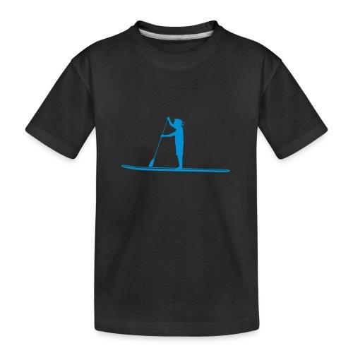 Stand-up Sihlouette - Teenager Premium Bio T-Shirt