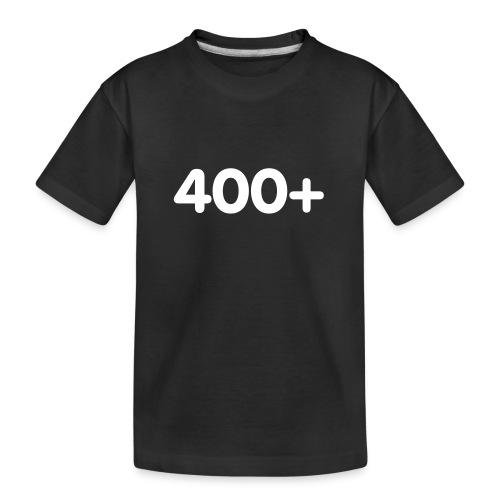 400 - Teenager premium biologisch T-shirt