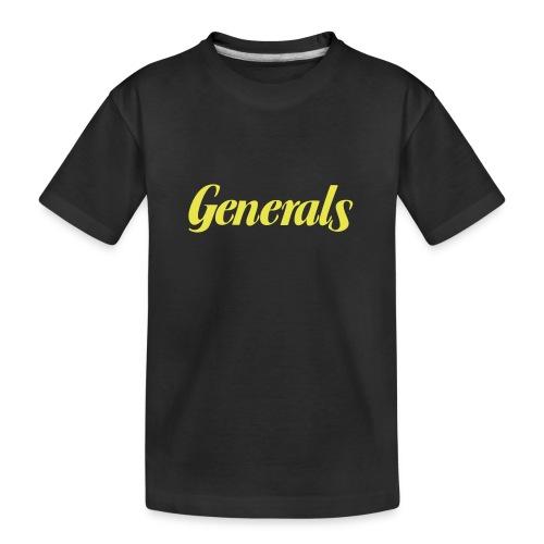 Generals - Teenager Premium Bio T-Shirt
