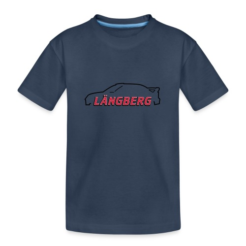 logotype Laengberg - Ekologisk premium-T-shirt tonåring