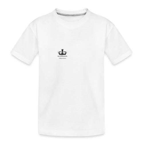 william - Teenager Premium Organic T-Shirt