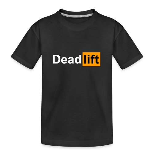 DeadLift X - T-shirt bio Premium Ado